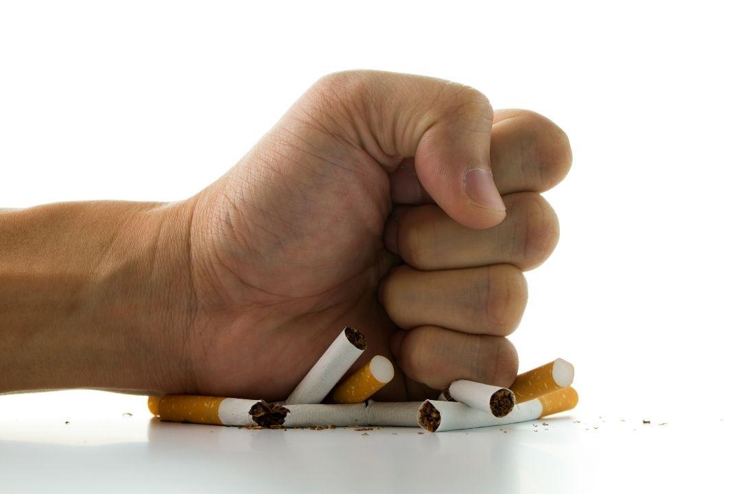 6. ไม่สูบบุหรี่